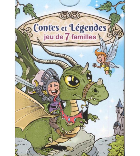 JEU DE 7 FAMILLES - Contes et légendes