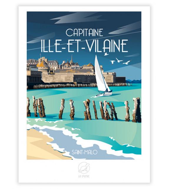 AFFICHE Ille-et-Vilaine