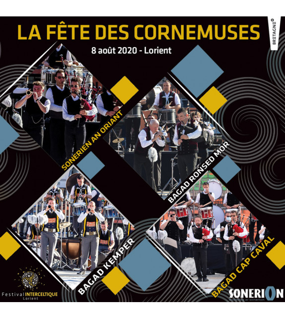 CD LA FÊTE DES CORNEMUSES, Lorient 2020