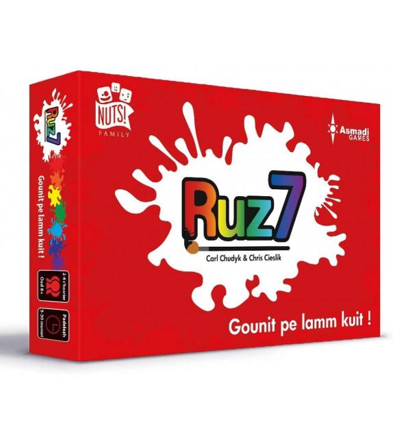 """JEU DE CARTES """"RUZ 7"""" - en breton"""
