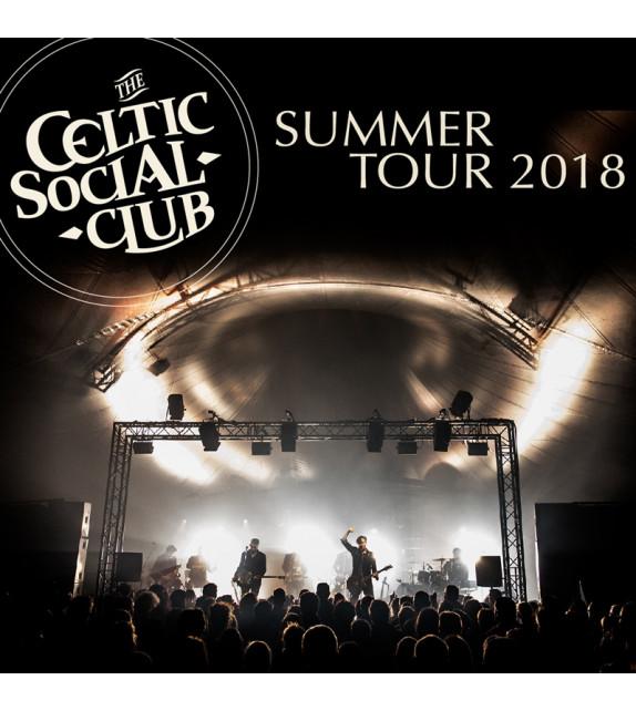 CD THE CELTIC SOCIAL CLUB - Summer Tour 2018