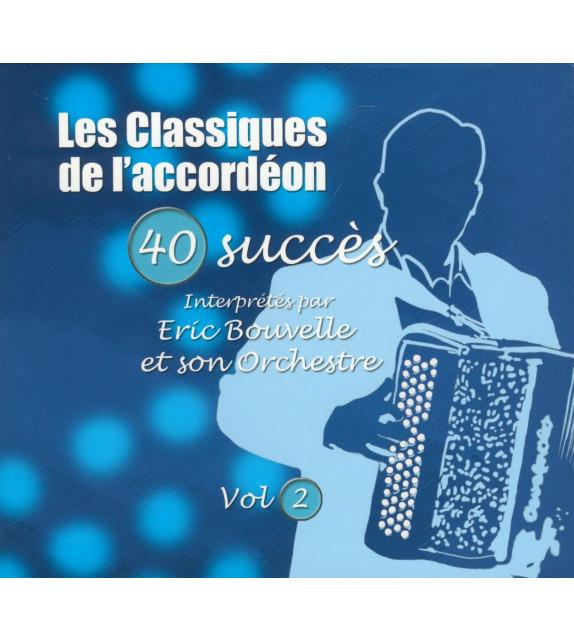 CD LES CLASSIQUES DE L'ACCORDEON Vol.2