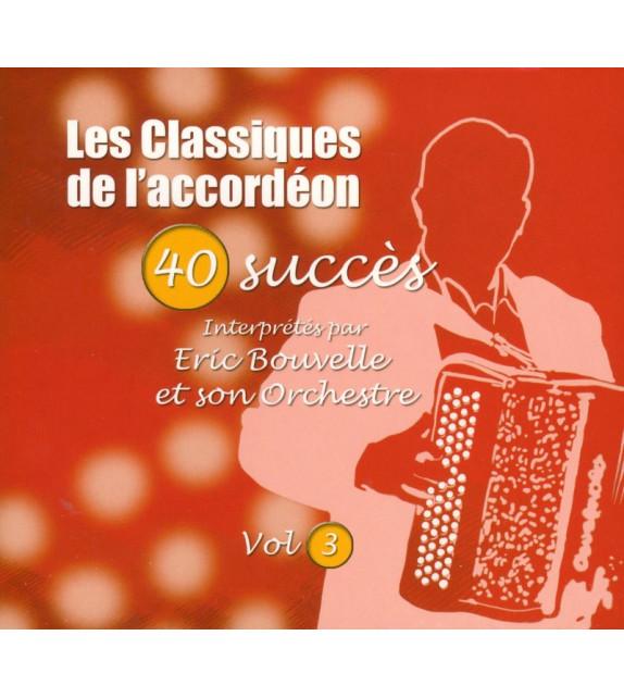 CD LES CLASSIQUES DE L'ACCORDEON Vol.3