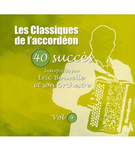 CD LES CLASSIQUES DE L'ACCORDEON Vol.4