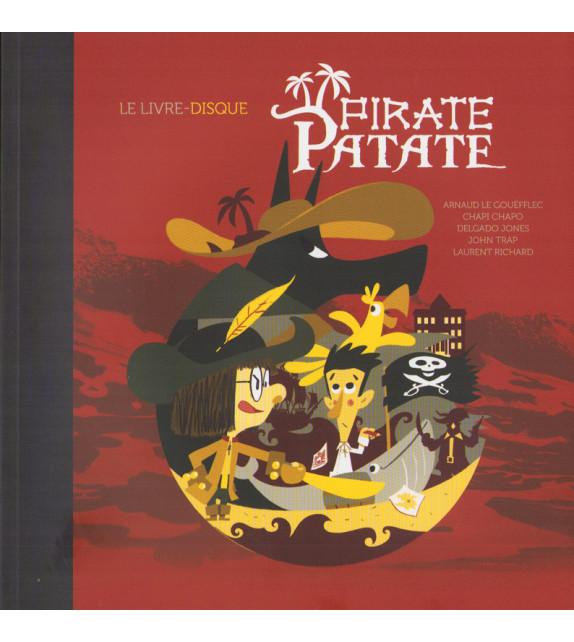 PIRATE PATATE - Le livre disque