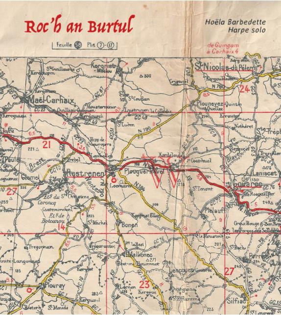 CD HOËLA BARBEDETTE - Roc'h an Burtul - Harpe solo