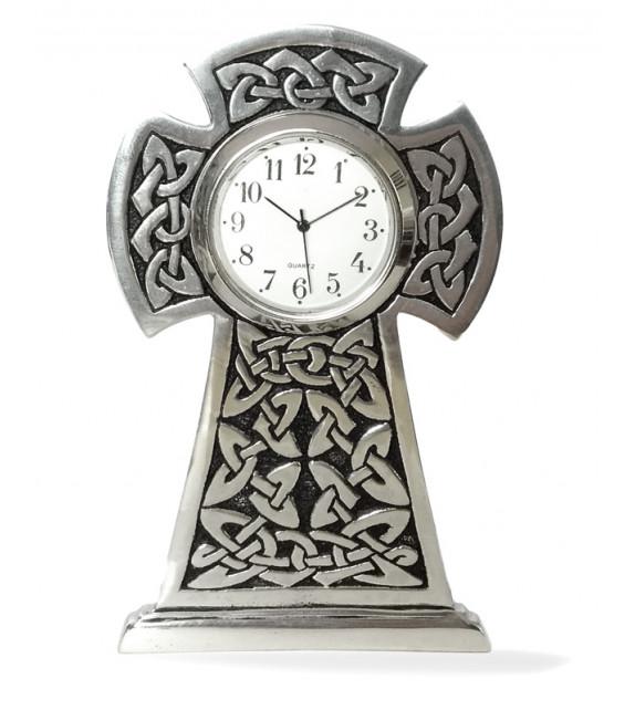 HORLOGE DE BUREAU Stèle celtique