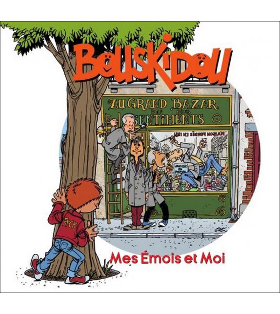 BOUSKIDOU - Mes émois et moi (Livre-CD)
