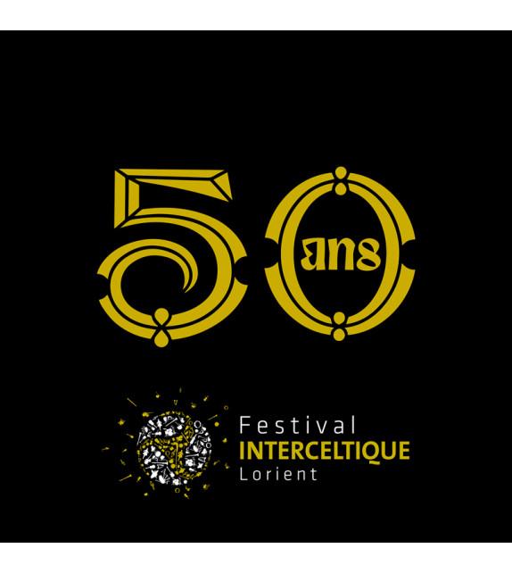 CD 50 ANS, FESTIVAL INTERCELTIQUE DE LORIENT - Compilation 2 CD