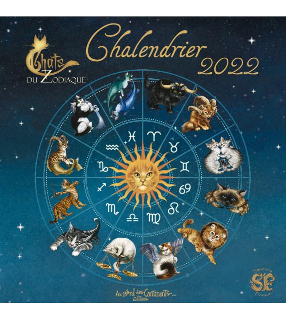 CHALENDRIER 2022 - CHATS DU ZODIAQUE