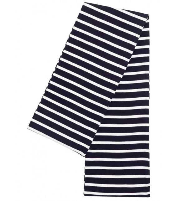 ÉCHARPE RAYÉE ARMOR-LUX - Modèle Pagaie, bleu marine & blanc