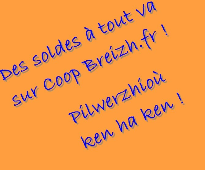 Soldes Coop Breizh